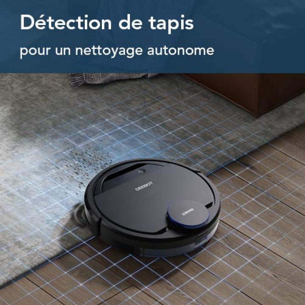 Test et Avis : Aspirateur nettoyeur robot ECOVACS DEEBOT